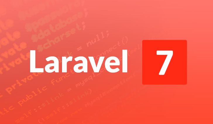 Laravel 7,Framework,PHP,Development,Software House,Update
