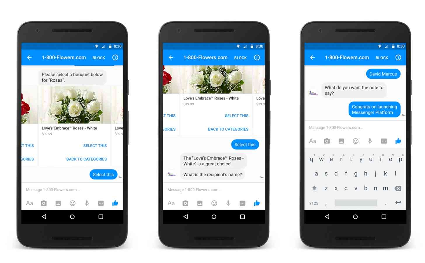 flowers chatbot
