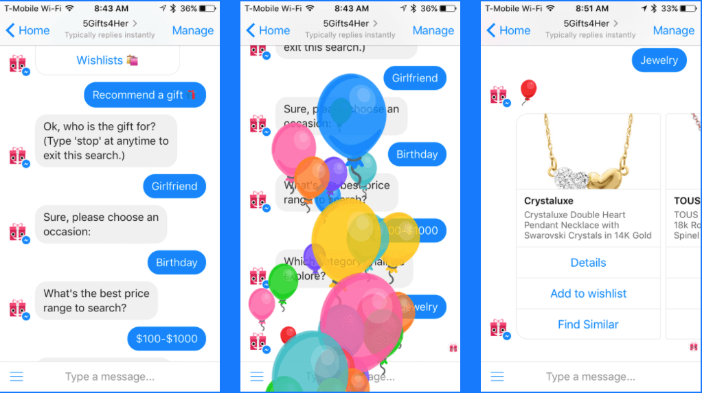 chatbot dla ecommerce